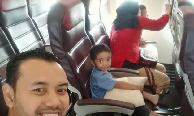 Checklist Penerbangan Jarak Jauh Dengan Bayi Dan Kanak-Kanak
